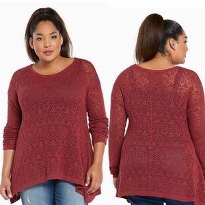 Torrid | Open Stitch Sweater Tunic